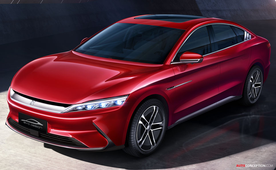 BYD 'Han EV' to Launch in Europe