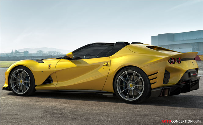 New Ferrari '812 Competizione' Joined by Targa Version