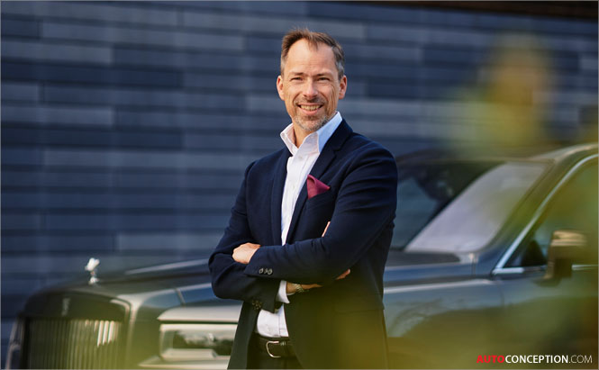 Anders Warming Named New Rolls-Royce Design Boss