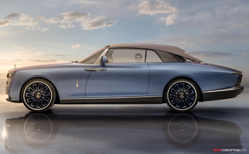 New Bespoke Rolls-Royce 'Boat Tail' Unveiled